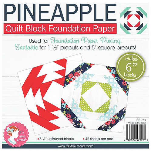 Pineapple 6in Foundation Paper Pad