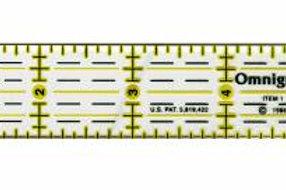 Omnigrid Ruler 1in x 6in