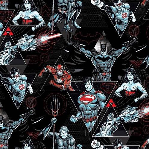 DC Comics Justice League Jersey Fabric