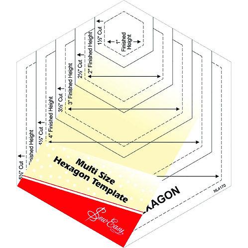 Sew Easy Hexagon Ruler