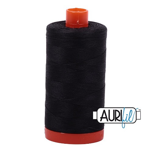 Aurifil 50 1300m 4241 Very Dark Grey Cotton Thread