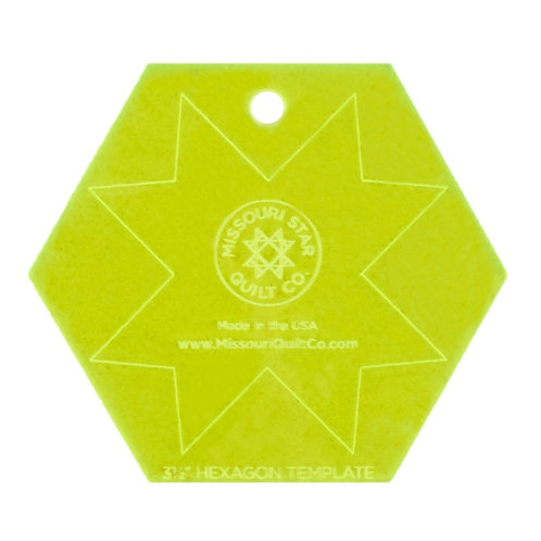 Missouri Star 3.5 Inch Hexagon