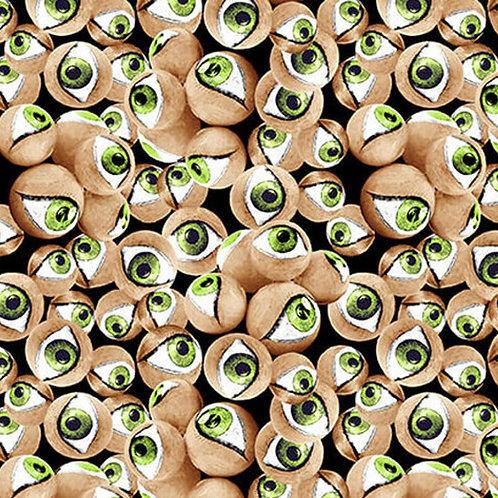 Hocus Pocus Eyeballs Glow In The Dark Fabric