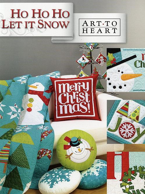 Ho Ho Ho Let It Snow Pattern Book