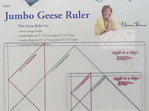 Jumbo Flying Geese Ruler Set 2pcs