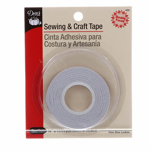 Craft & Sewing Tape 1/4in x 11 1/3yds
