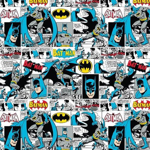 DC Batman Comic Fabric