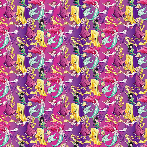 Disney Princess Allover Fabric