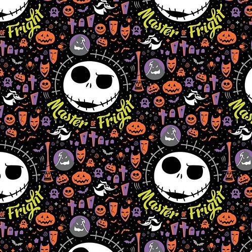 Nightmare Before Christmas Jack Master of Fright Halloween Fabric