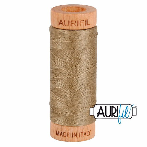 Aurifil 80 280m 2370 Sandstone Cotton Thread