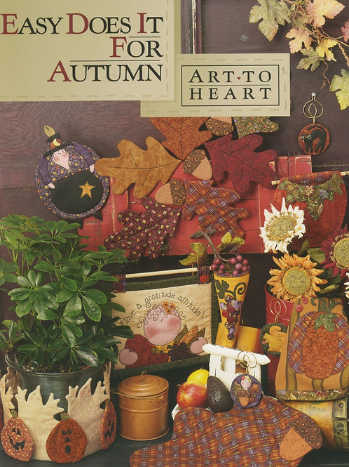 Easy Does It For Autumn Pattern Book