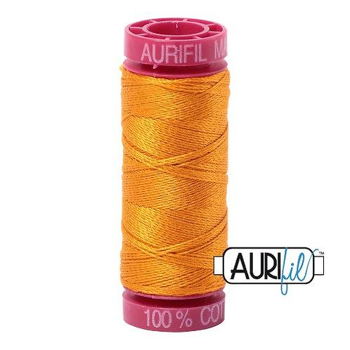 Aurifil 12 50m 2145 Yellow Orange Cotton Thread