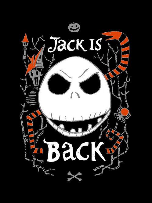 Nightmare Before Christmas Jack is Back No-Sew Fleece Throw Kit