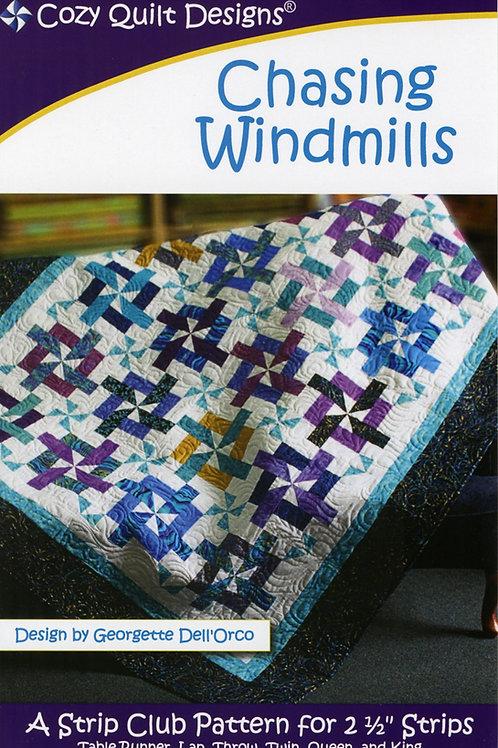 Cozy Quilt Designs Chasing Windmills Quilt Pattern