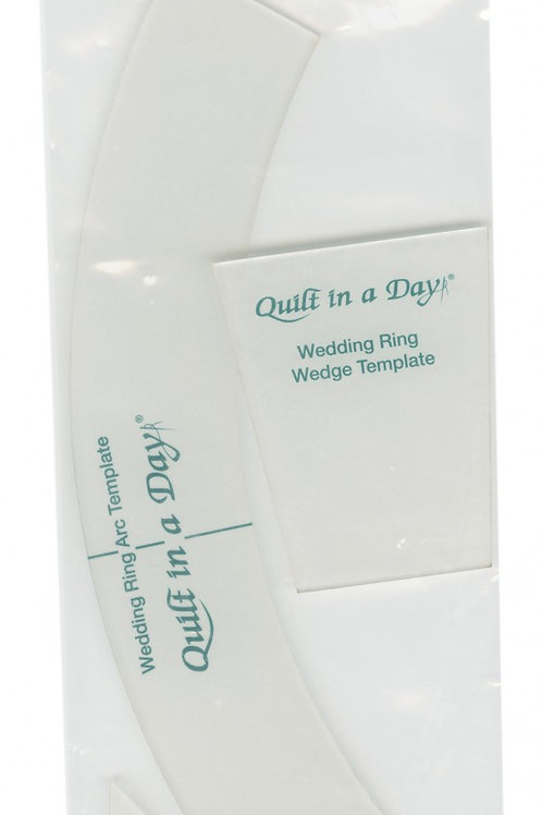 Quilt in a Day Double Wedding Ring Template