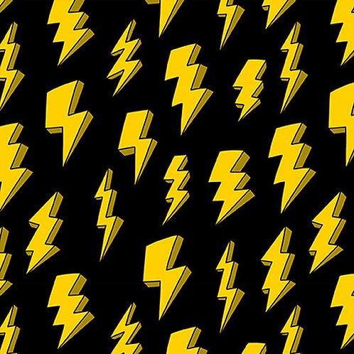 Blank Quilting Superhero Lightning Strike Fabric