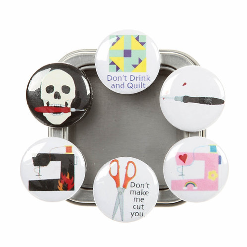 Bitchy Stitcher 6 Magnet Set