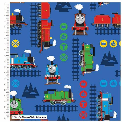Thomas Train Adventure Fabric