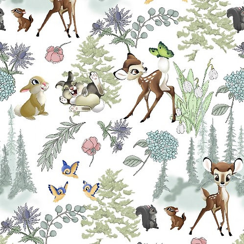Disney Bambi and Friends Fabric