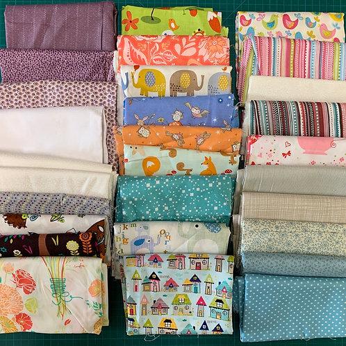 Scrap Box Blenders Fabrics - B1