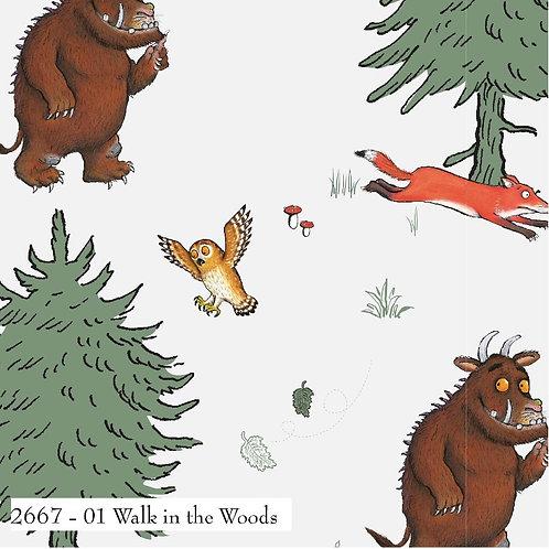 Gruffalo Walk in the Woods Fabric