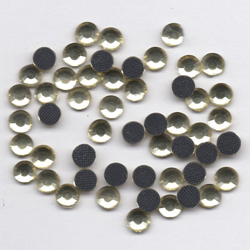 Hotfix Rhinestones 4mm - Jonquil Golden yellow - 60 Pieces