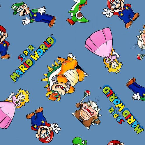 Nintendo Super Mario and Friends Fabric