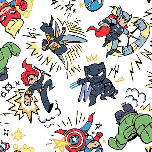 Marvel Kapow Fabric