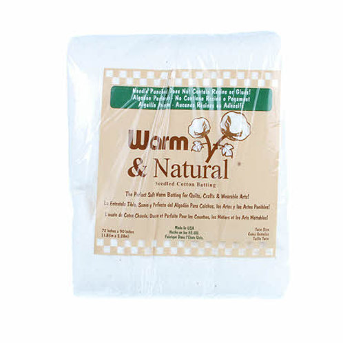 Warm and Natural Twin Size - Cotton