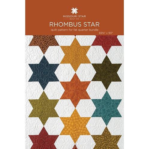 Missouri Star Quilt Company Rhombus Star Pattern