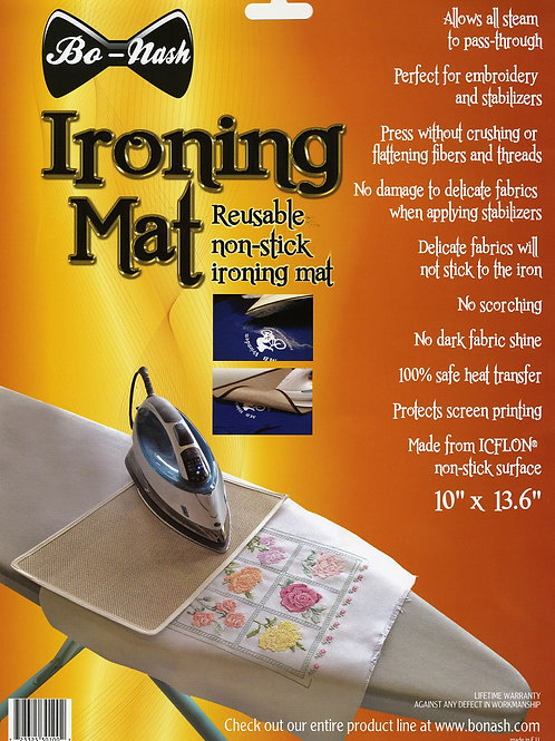 Bo Nash Reusable Non Stick Ironing Mat 10in x 13-5/8in