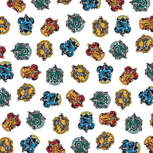 Harry Potter Hogwarts School Houses Fabric
