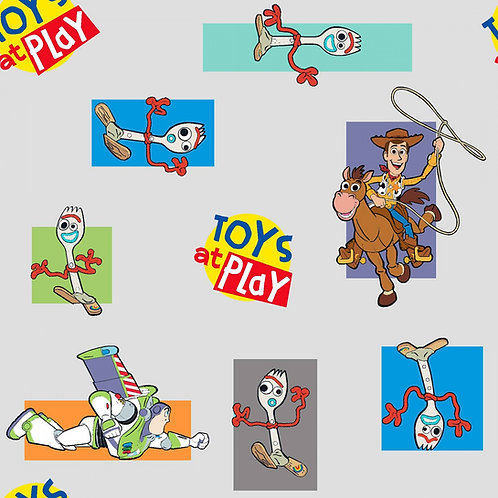 Disney Toy Story 4 Toys at Play Fabric
