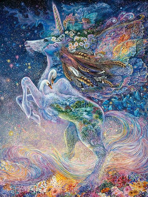 Celestial Journey Unicorn Panel