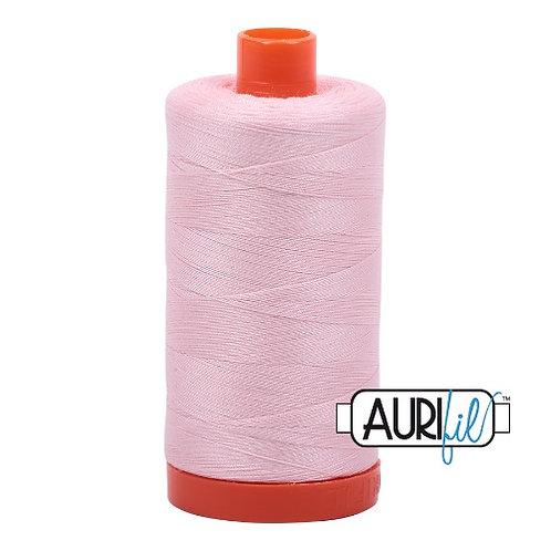 Aurifil 50 1300m 2410 Pale Pink Cotton Thread