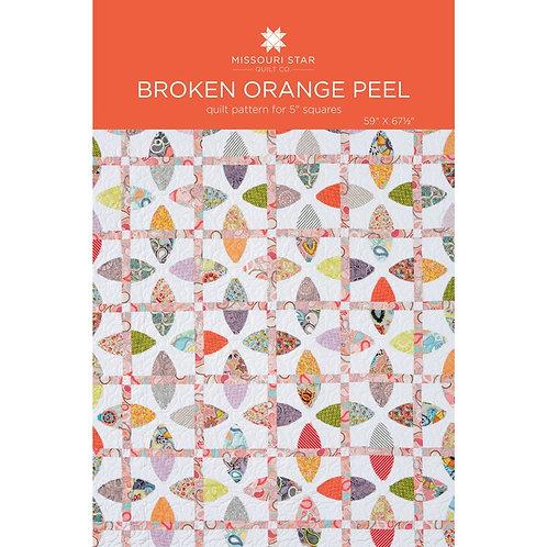 Missouri Star Quilt Company Broken Orange Peel Pattern