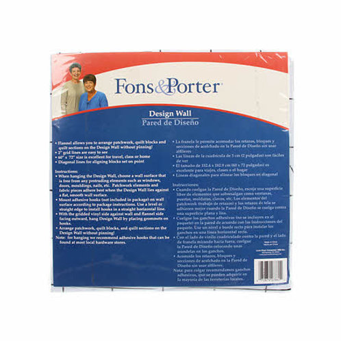 Fons and Porter Design Wall