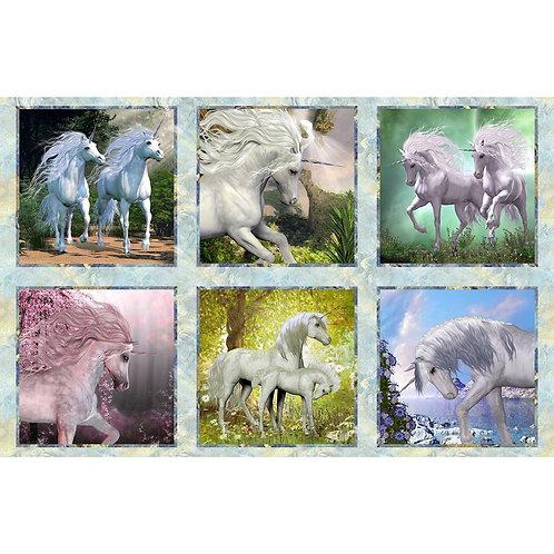 Unicorns Squares Panel