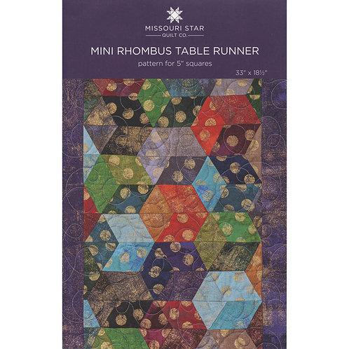 Missouri Star Mini Rhombus Table Runner Pattern