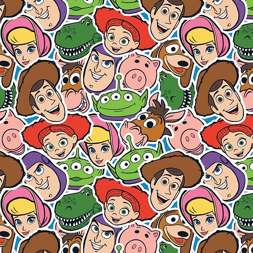 Disney Packed Toy Story Character Fabric