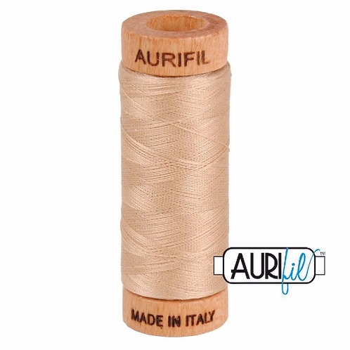 Aurifil 80 280m 2314 Beige Cotton Thread