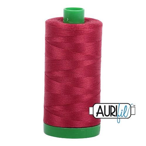 Aurifil 40 1000m 1103 Burgundy Cotton Thread