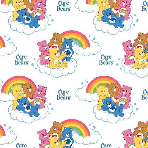 Care Bears Rainbow Fabric