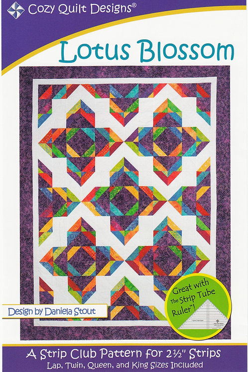 Cozy Quilt Designs Lotus Blossom Quilt Pattern