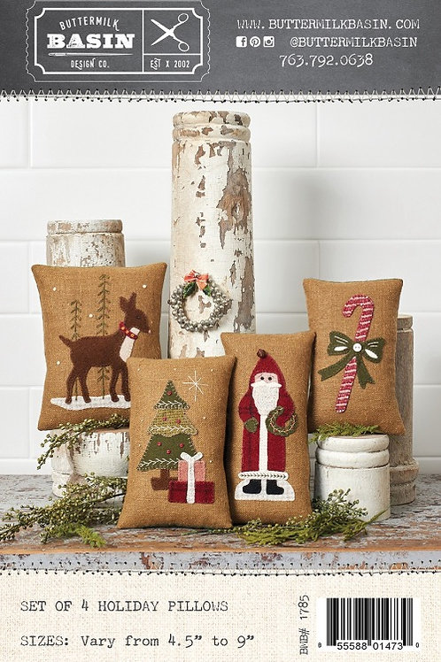 Holiday Pillows/Bowl Fillers Pattern