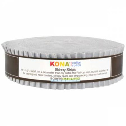 Robert Kaufman Kona Solids Ash Skinny Strips/ Honey Bun