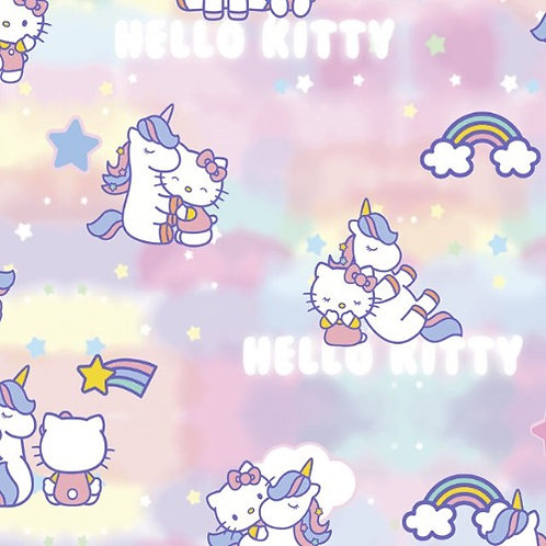 Hello Kitty Candy Floss Cotton Fabric