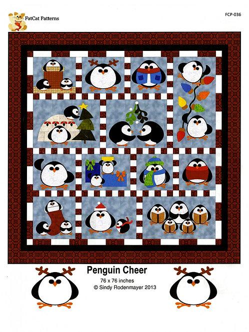 Penguin Cheer Quilt Pattern