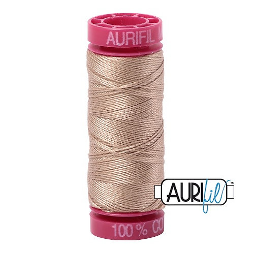 Aurifil 12 50m 2326 Sand Cotton Thread