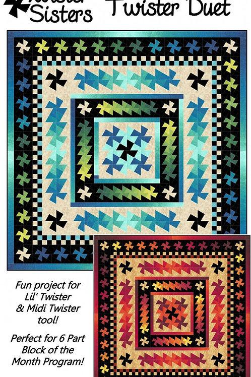Twister Duet Quilt Pattern